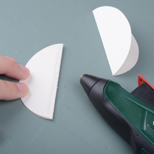 Glue-on-one-eggshape