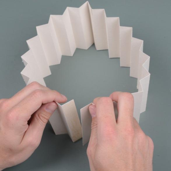 Glue-paper-ring
