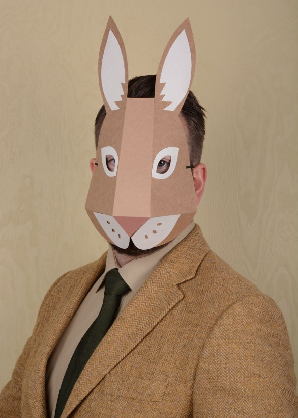Paper mask Rabbit