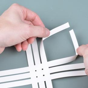 Bend-strips-to-loop
